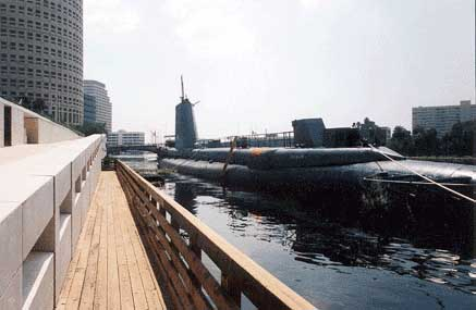 REQUIN on the Hillsborough River in 1989